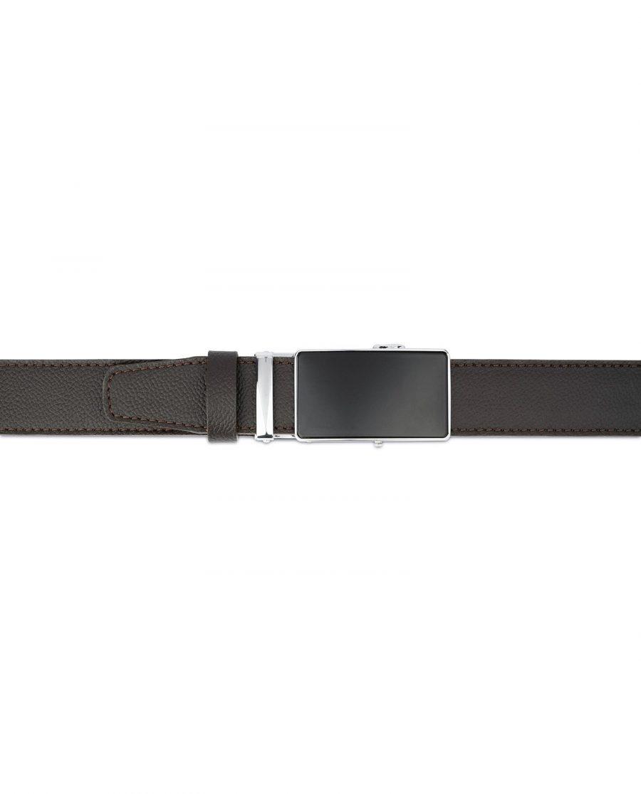 Comfort Click Belt for Men Brown Leather 4