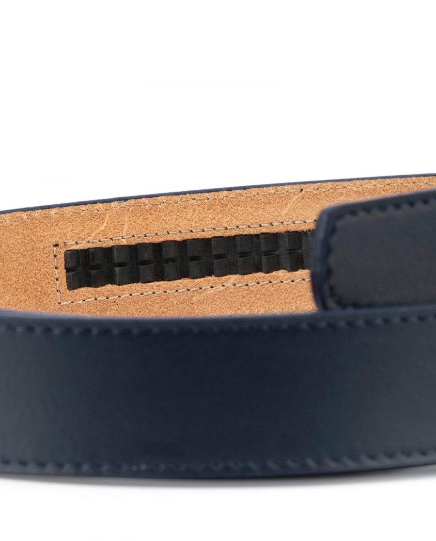 Dark Blue Leather Strap for Ratchet Belt 3