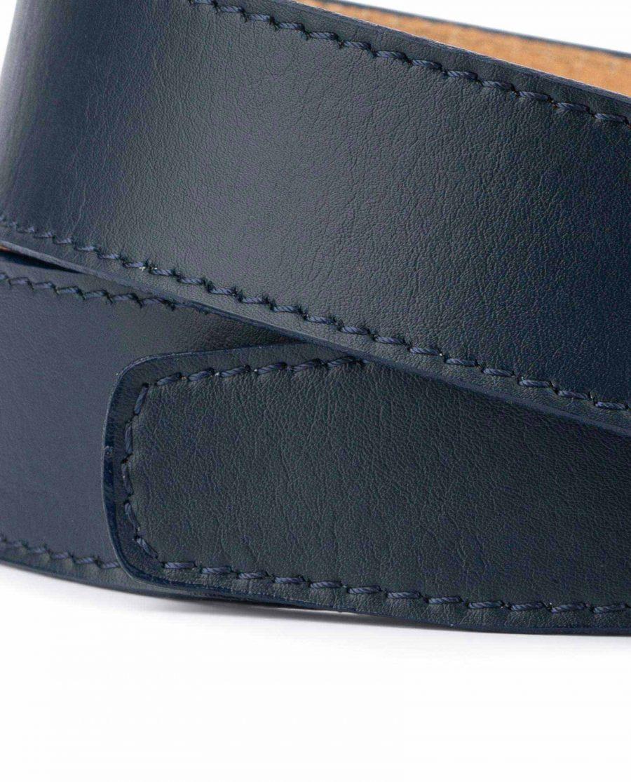 Dark Blue Leather Strap for Ratchet Belt 4