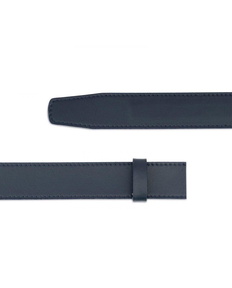 Dark Blue Leather Strap for Ratchet Belt 5