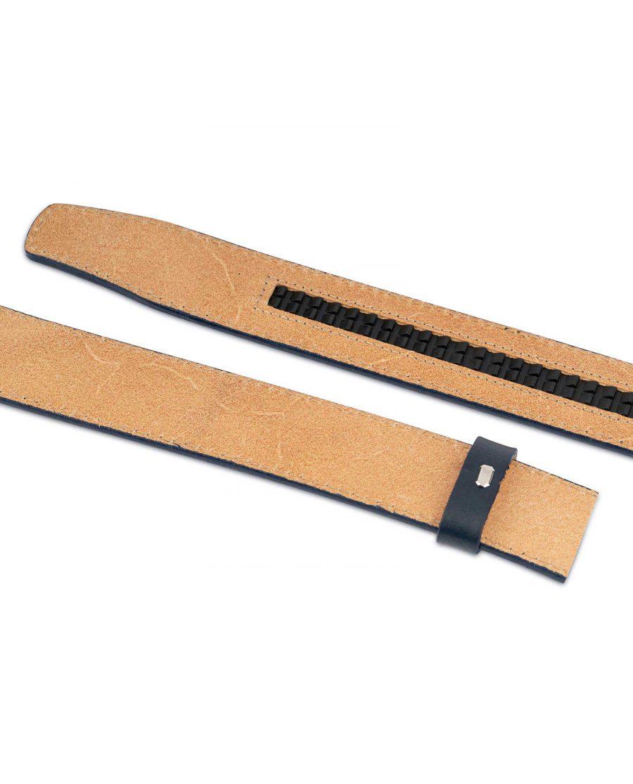 Dark Blue Leather Strap for Ratchet Belt 6