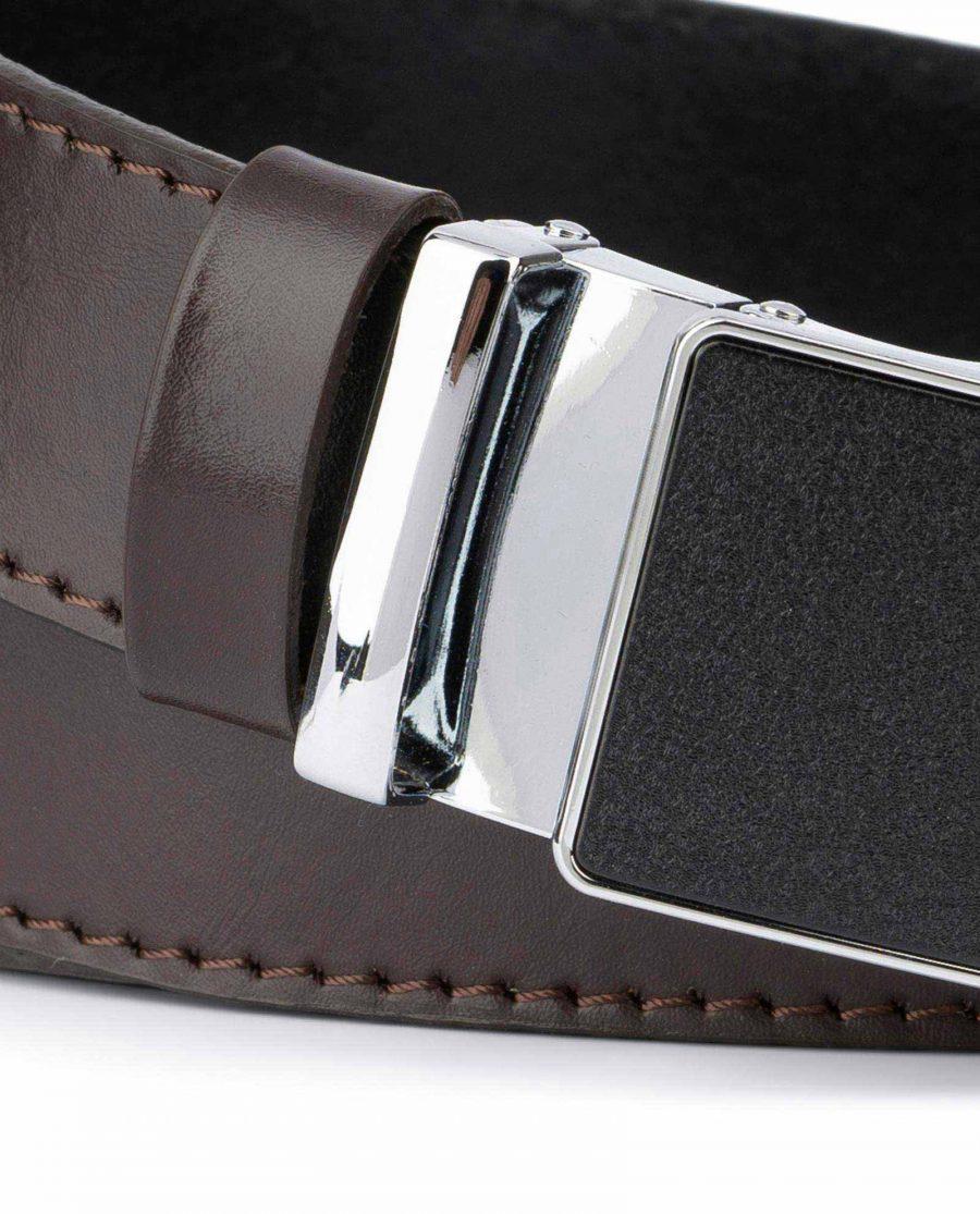 Dark Brown Comfort Click Belt for Men 2