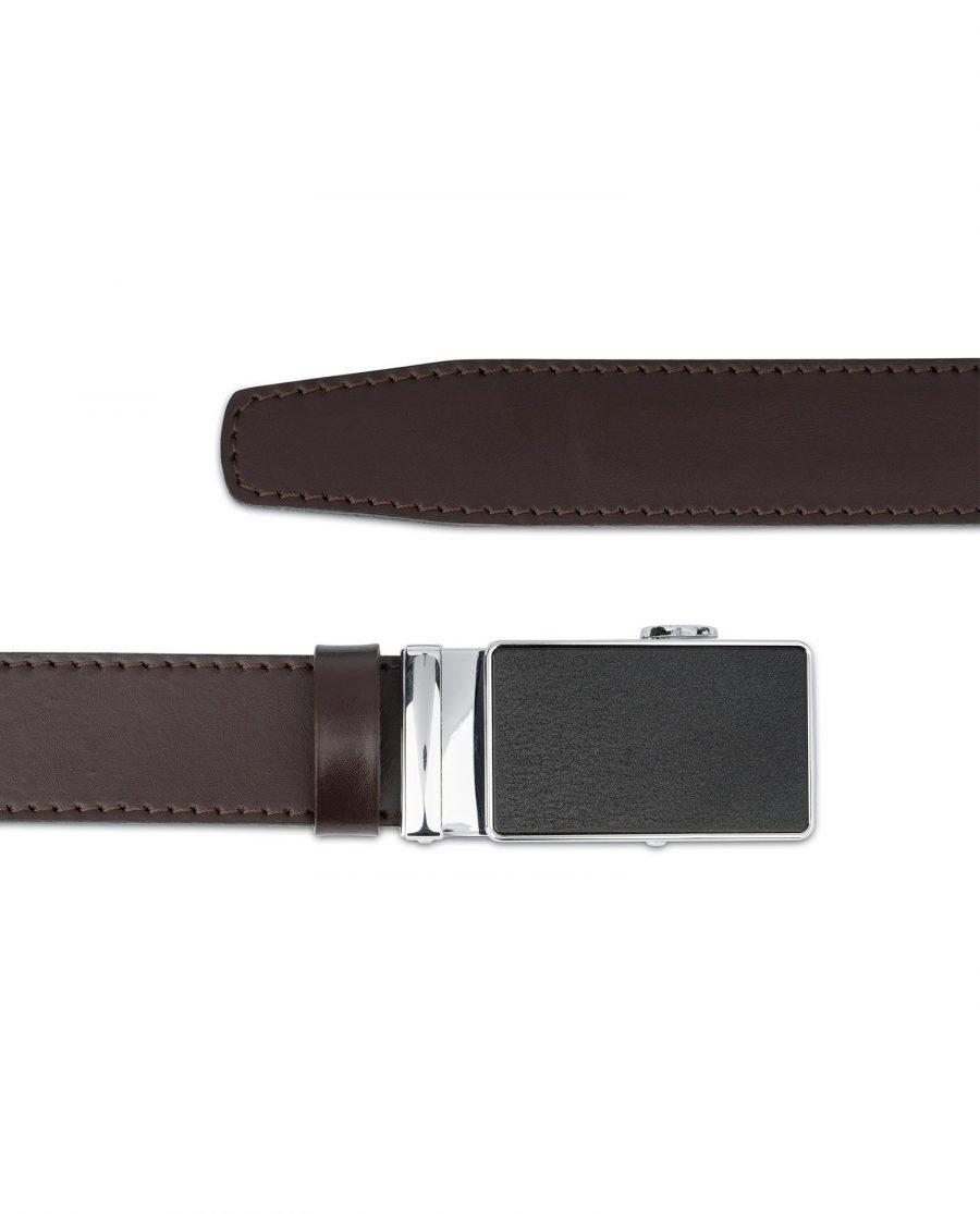 Dark Brown Comfort Click Belt for Men 3