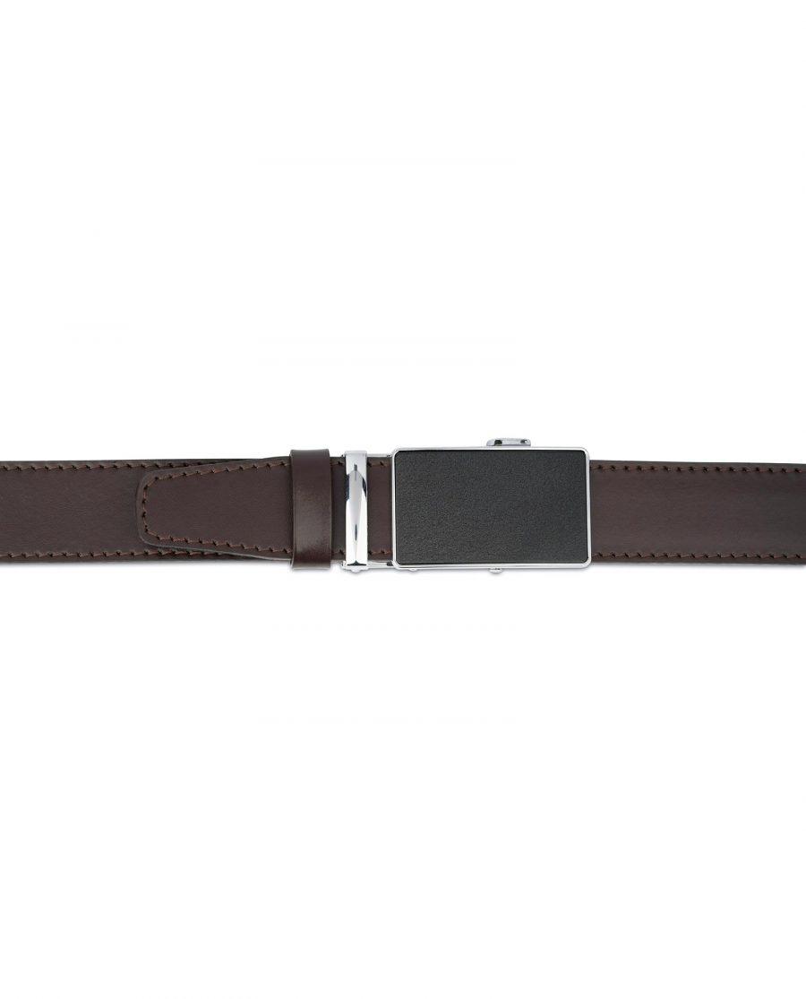 Dark Brown Comfort Click Belt for Men 4