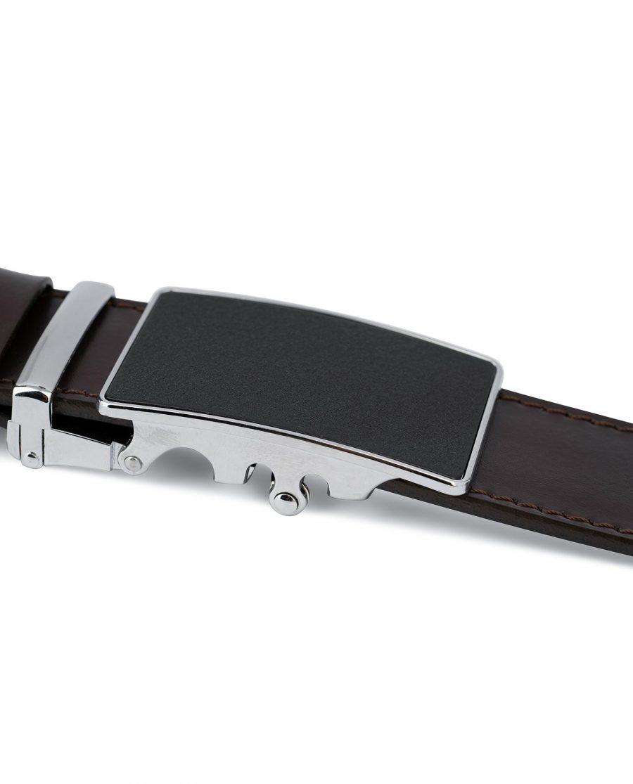 Dark Brown Comfort Click Belt for Men 6