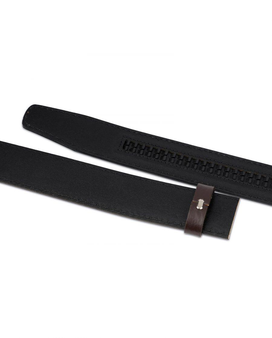 Dark Brown Leather Strap for Ratchet Belt 6