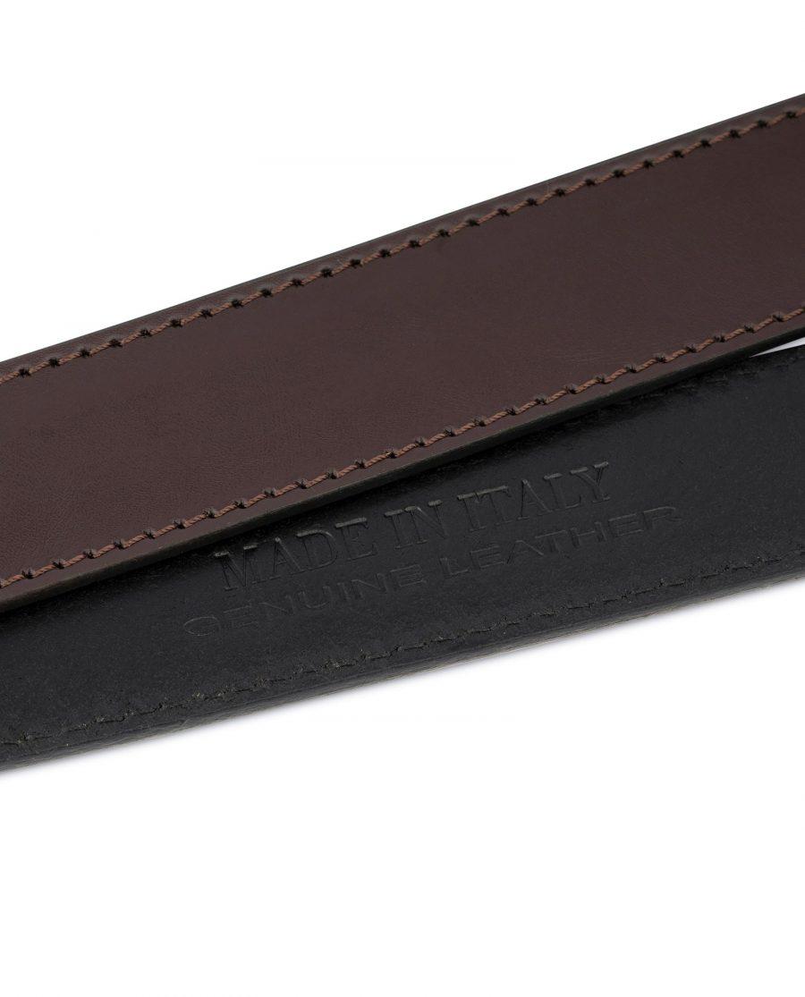 Dark Brown Leather Strap for Ratchet Belt 7