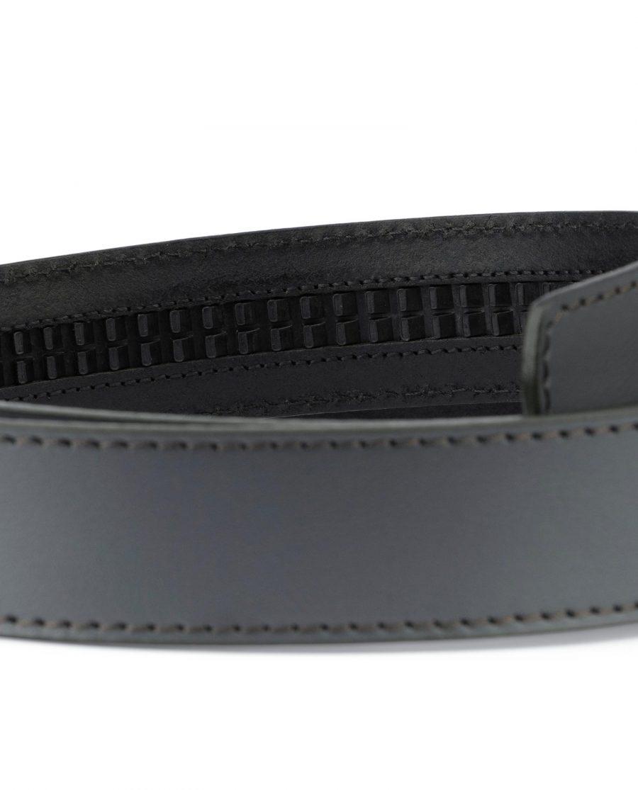 Grey Leather Strap for Ratchet Belt 3