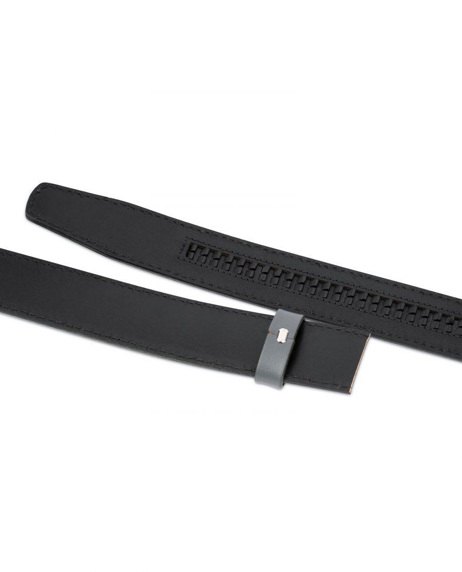Grey Leather Strap for Ratchet Belt 6