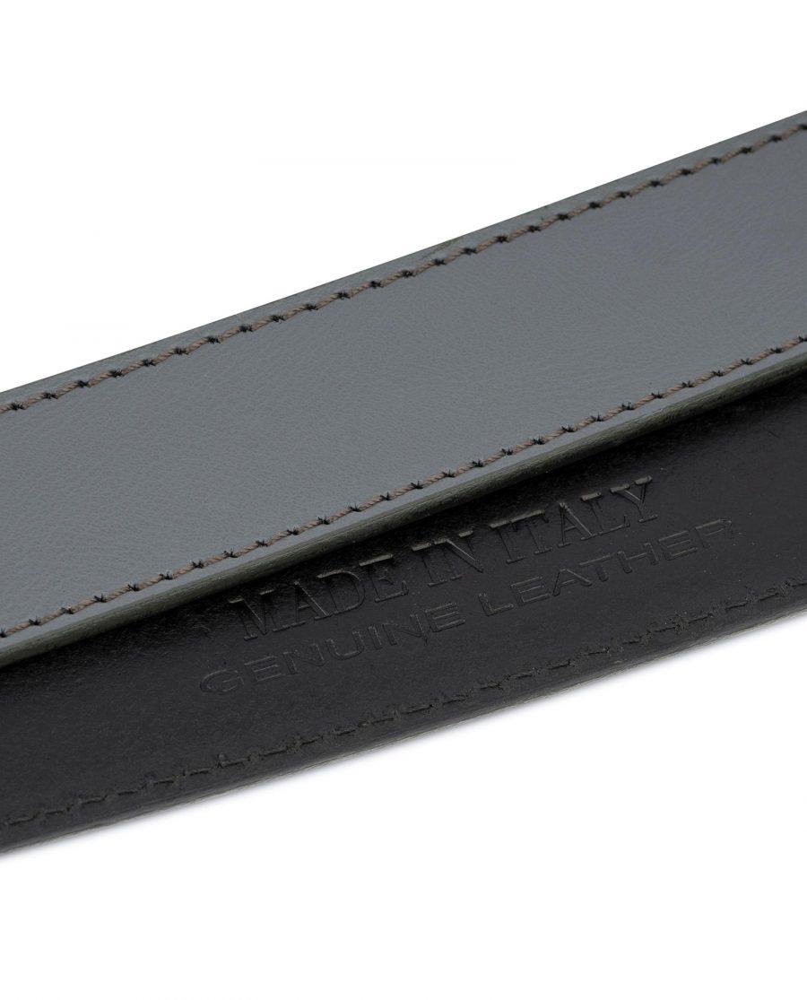 Grey Leather Strap for Ratchet Belt 7
