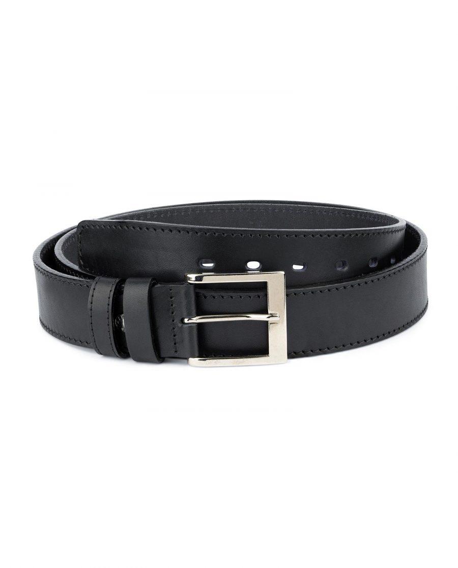 Mens Big and Tall Belt Full Grain Leather 1