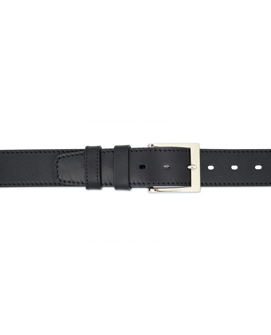Mens Big and Tall Belt Full Grain Leather 3