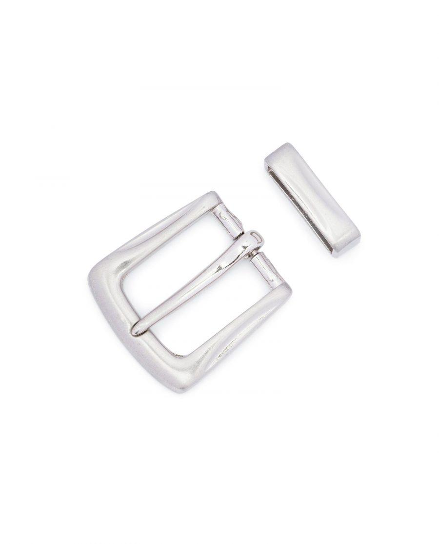 Silver Metal Belt Buckle for Men 2