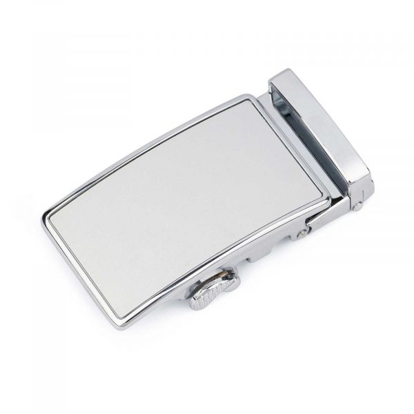 White Automatic Belt Buckle 4