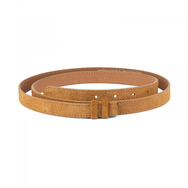 Camel Color Replacement Belt Strap 20 mm 1