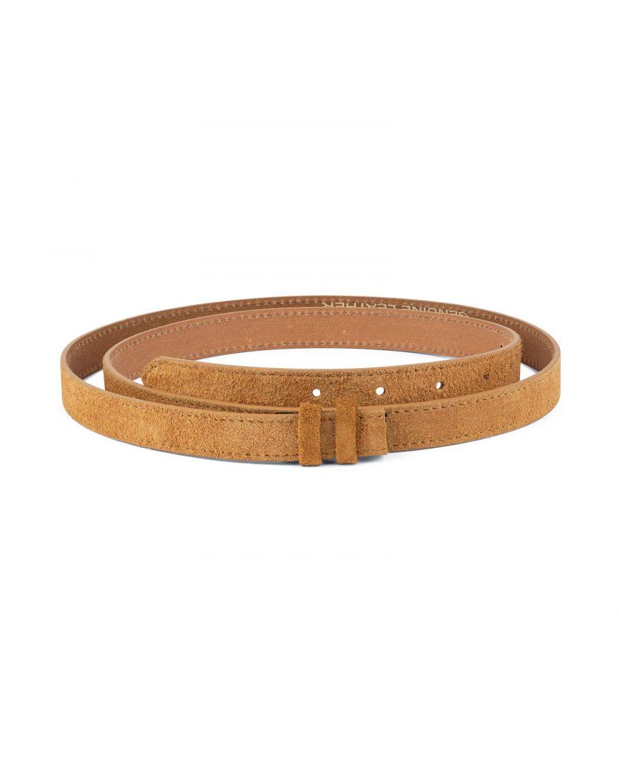 Camel Color Replacement Belt Strap 20 mm 1