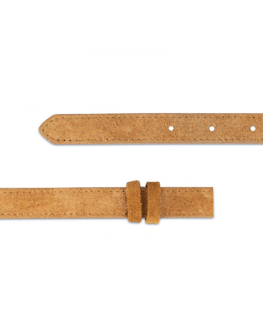 Camel Color Replacement Belt Strap 20 mm 4