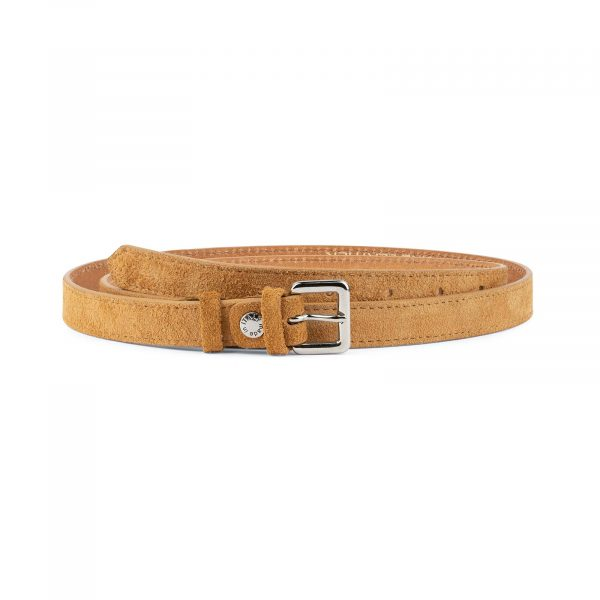 Camel Suede Belt 20 mm 1