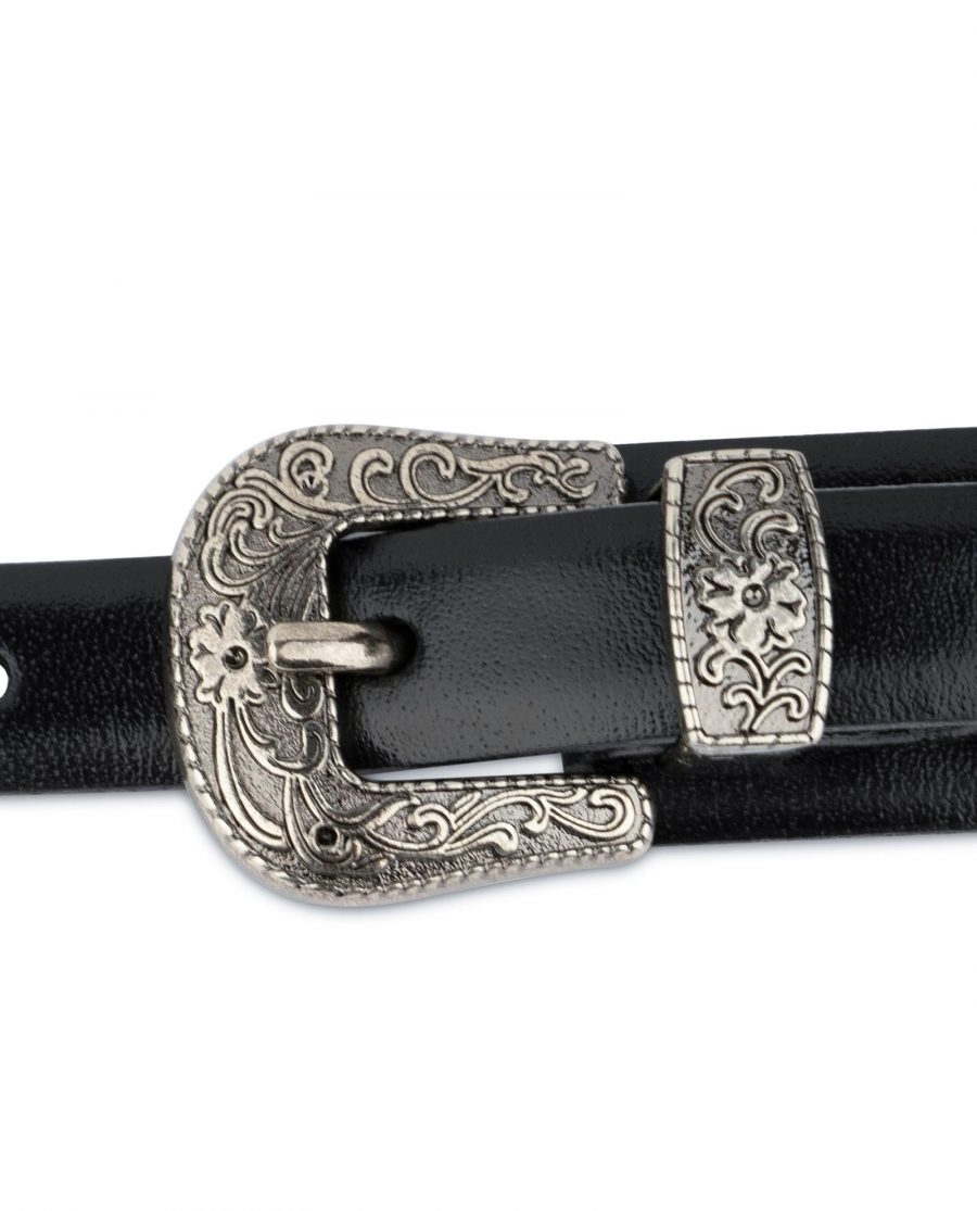 Womens Western belt With Double Buckle 6