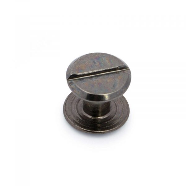 Belt Buckle Screws Black Gunmetal 1