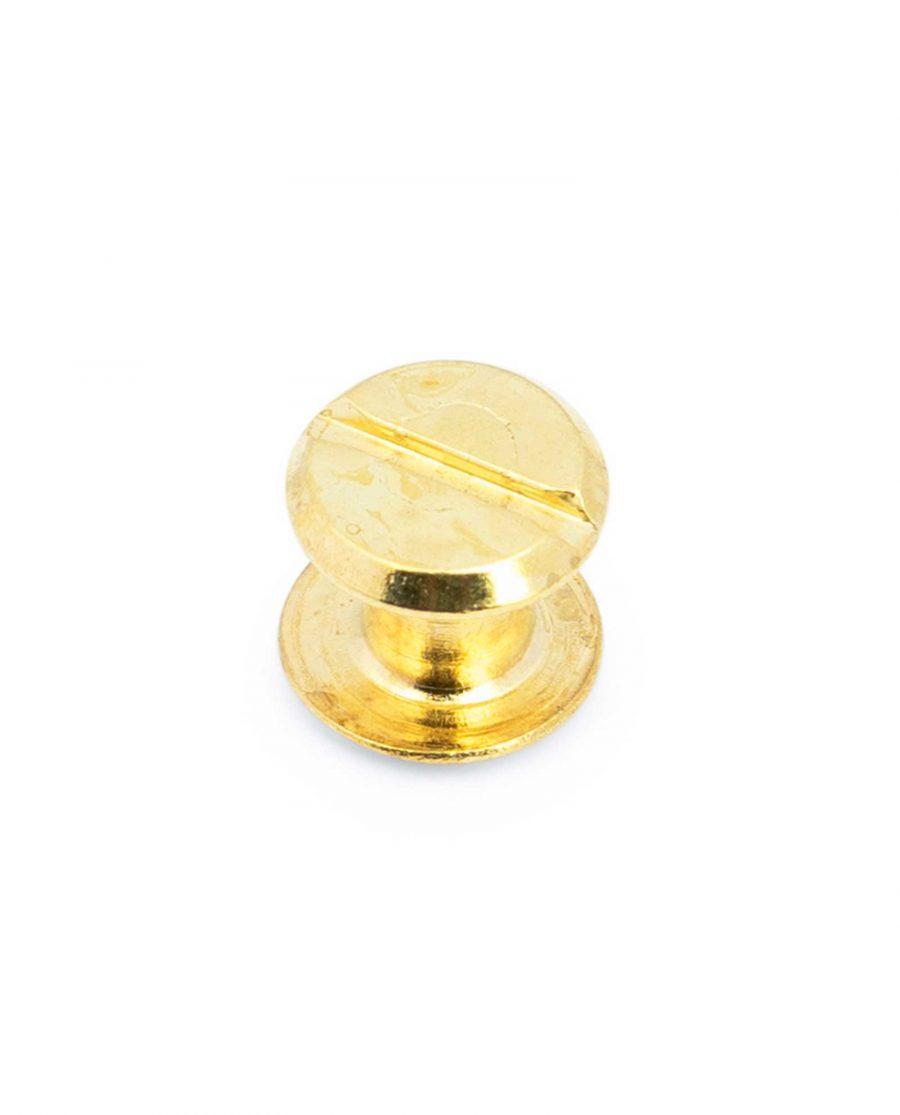 Belt Buckle Screws Brass Plated 1