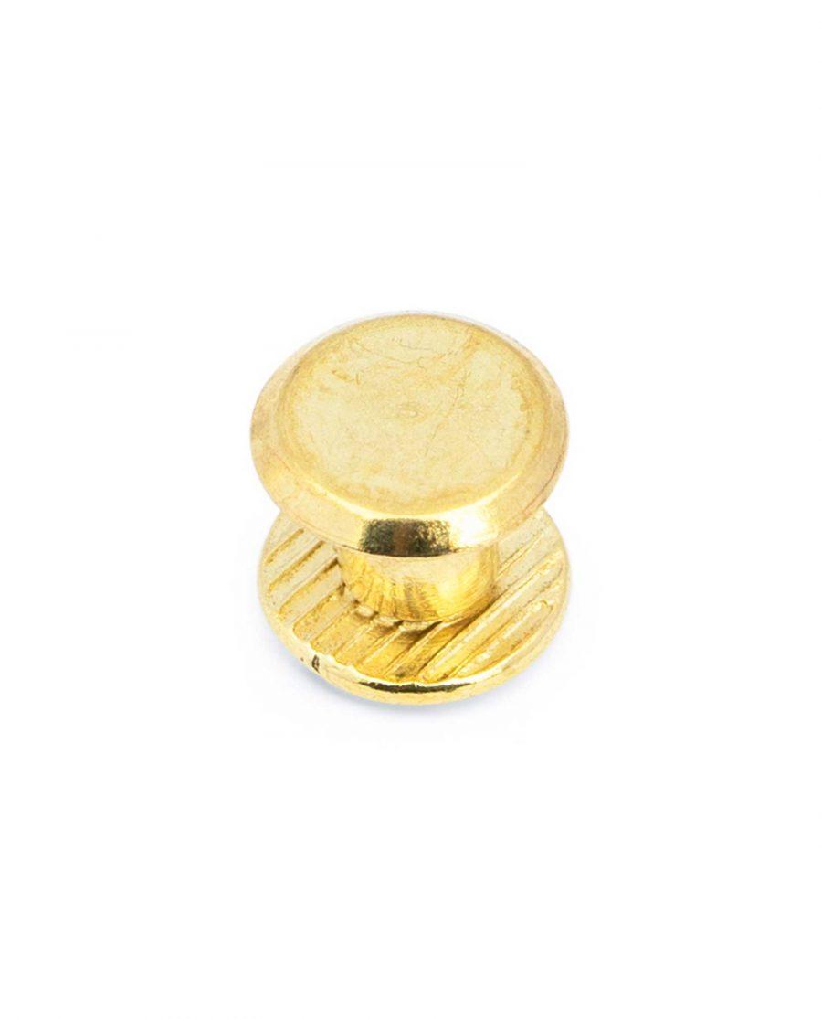 Belt Buckle Screws Brass Plated 2