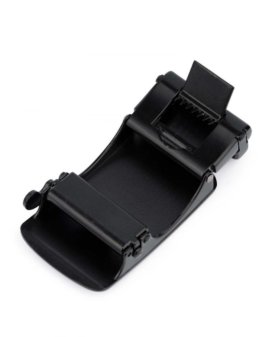 Black Automatic Belt Buckle 4