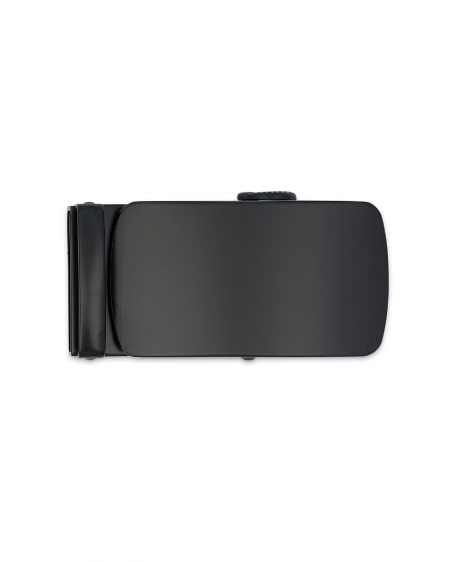 Black Automatic Belt Buckle Top