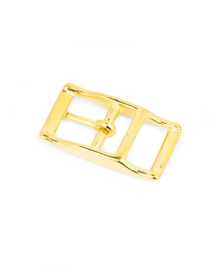 Brass Belt Buckle Center Bar 20 Mm 2
