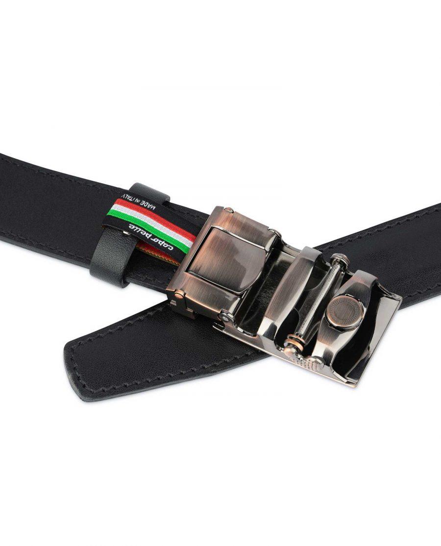 Comfort Click Leather Belt Copper Buckle 4