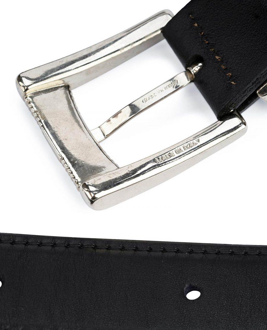 Double buckle belt Western belts for women Belt with two buckles Full grain Leather belt 9