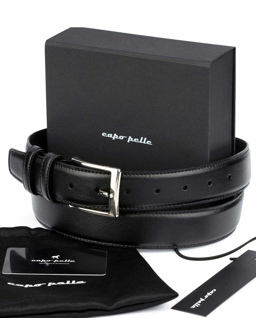 Gifts For Male Coworkers Black Dress Belt