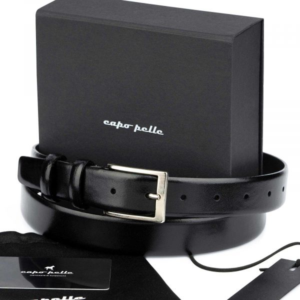 Leather Gifts For Men Black Leather Belt