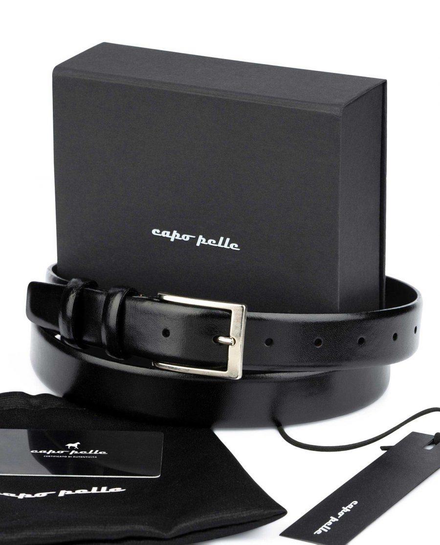 Leather Gifts For Men Black Leather Belt