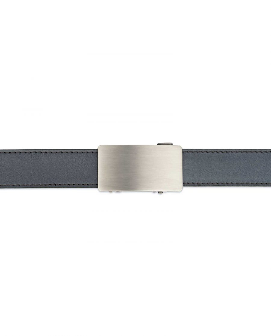 Mens Grey Comfort Click Belt 3