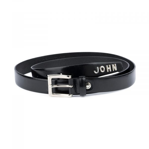 Personalized Leather Belt With Name 1