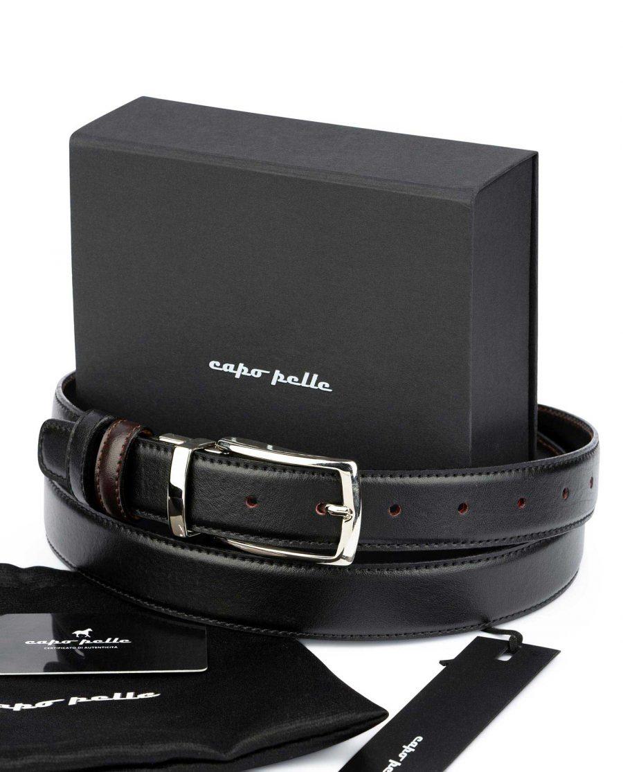 Practical Gifts For Men Reversible Leather Belt