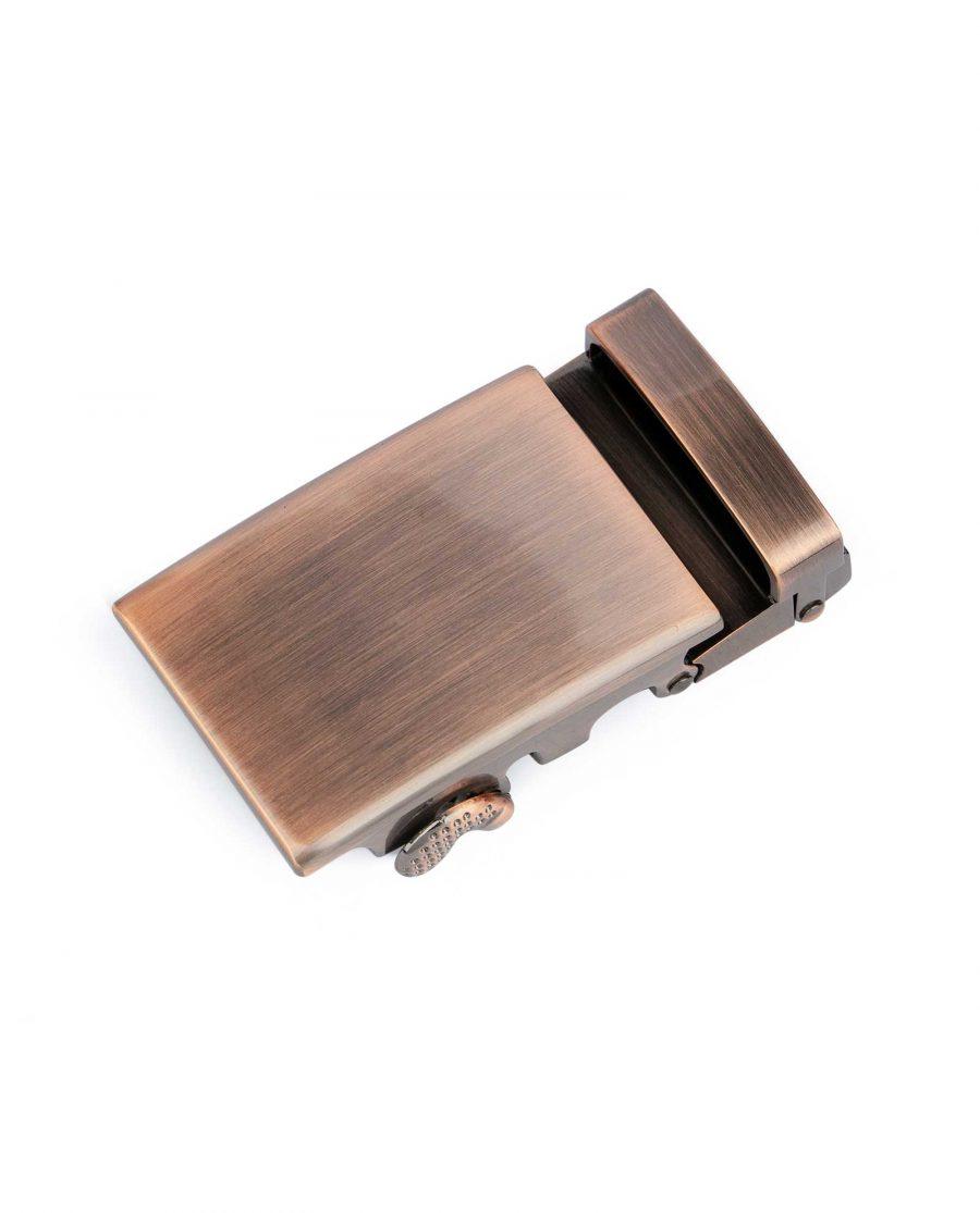 Ratcheting Copper Belt Buckle for Men 1