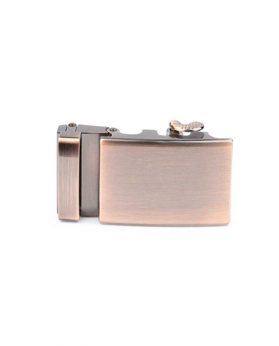 Ratcheting Copper Belt Buckle for Men 4