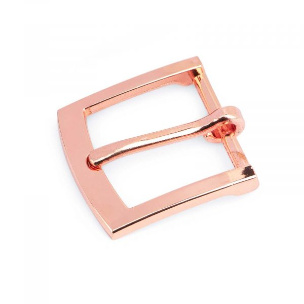 Rose Gold Belt Buckle Classic 25 mm 1