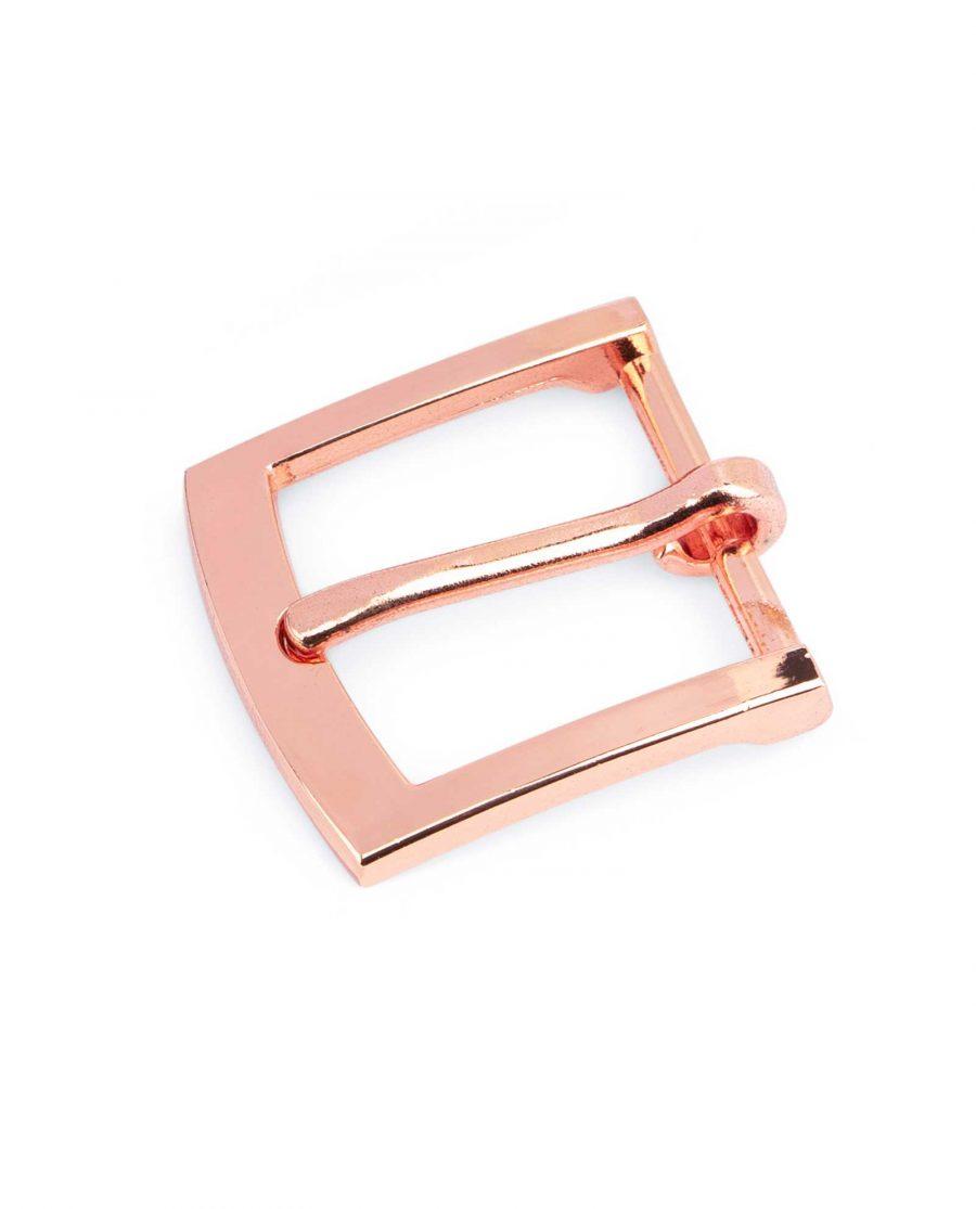 Rose Gold Belt Buckle Classic 25 mm 1