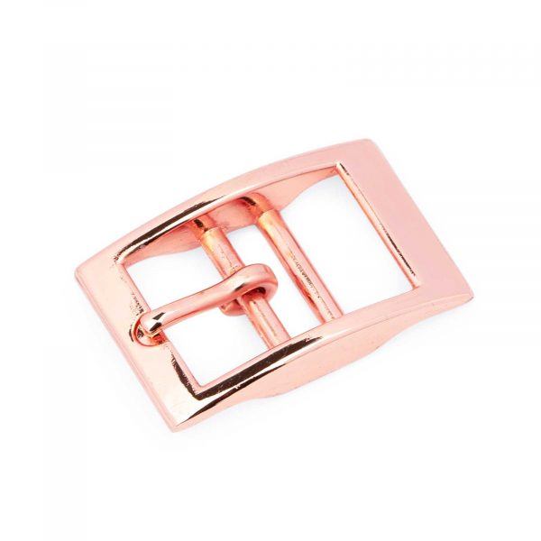 Rose Gold Center Bar Buckle 16 Mm 1