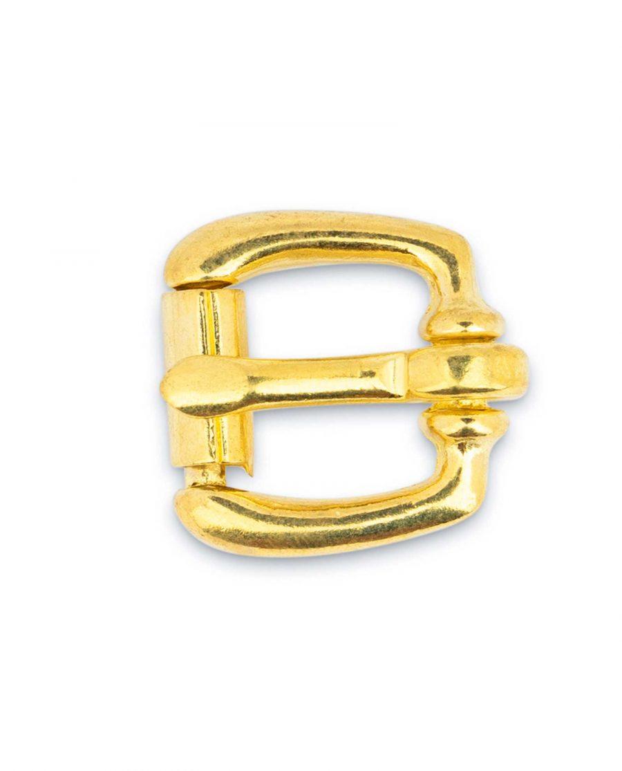 Small Brass Belt Buckle Roller 15 mm 5