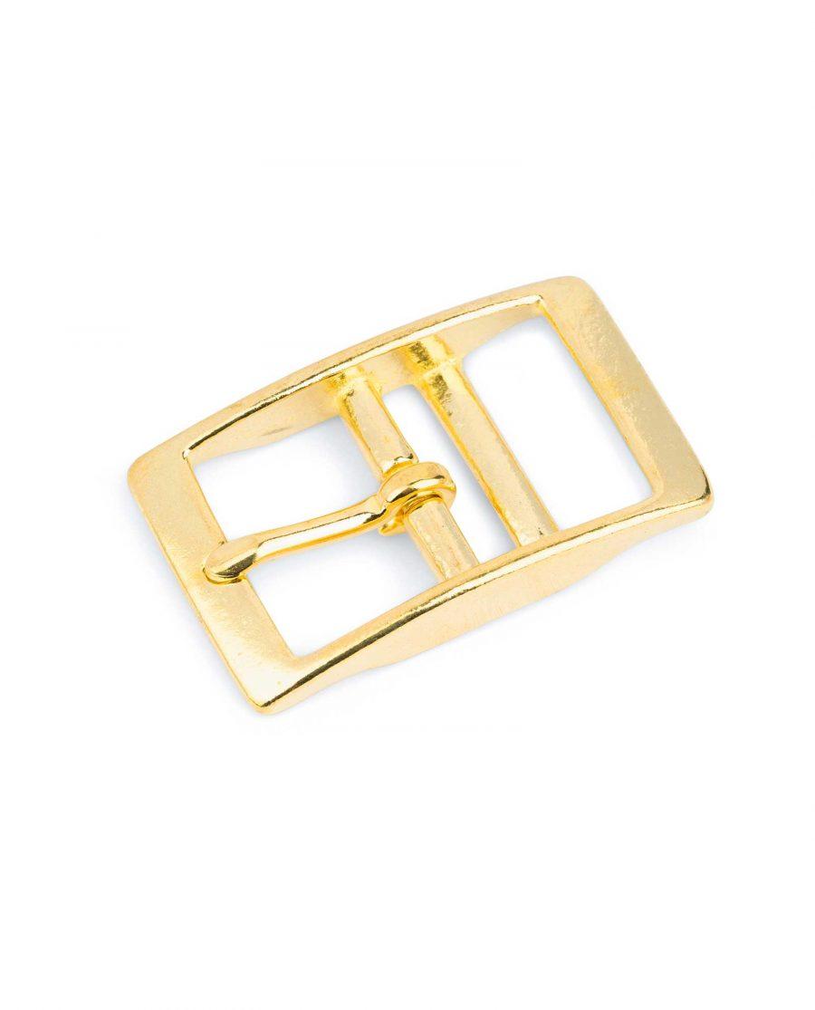 Solid Brass Belt Buckle Center Bar 32 Mm 1
