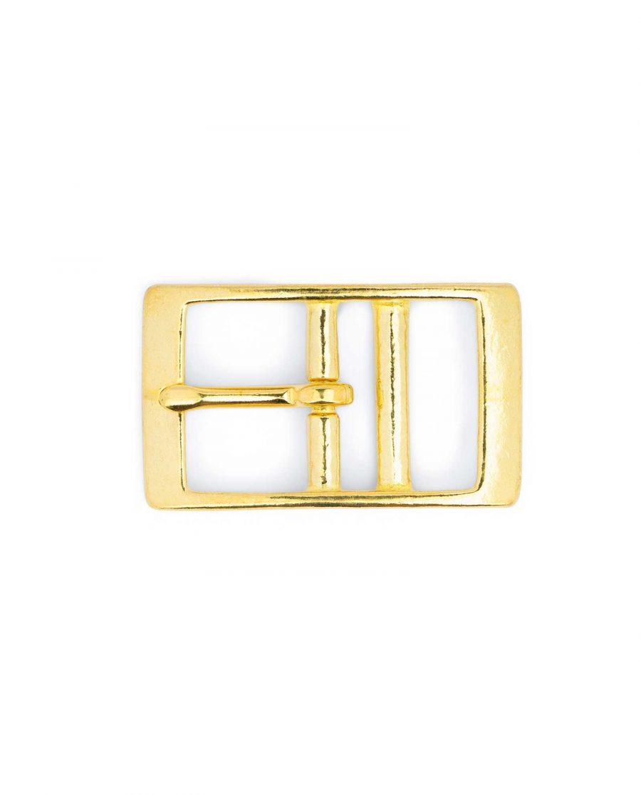 Solid Brass Belt Buckle Center Bar 32 Mm 5