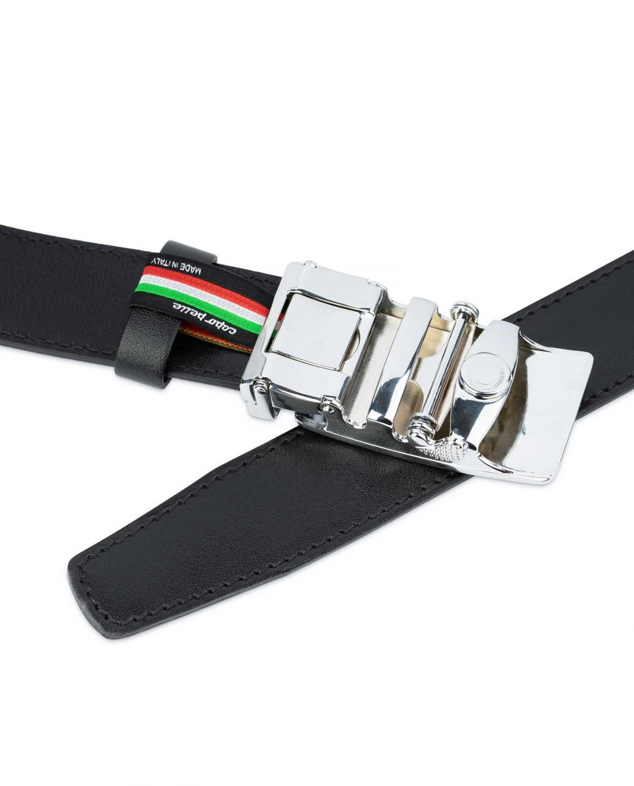 White Buckle Belt Without Holes 4