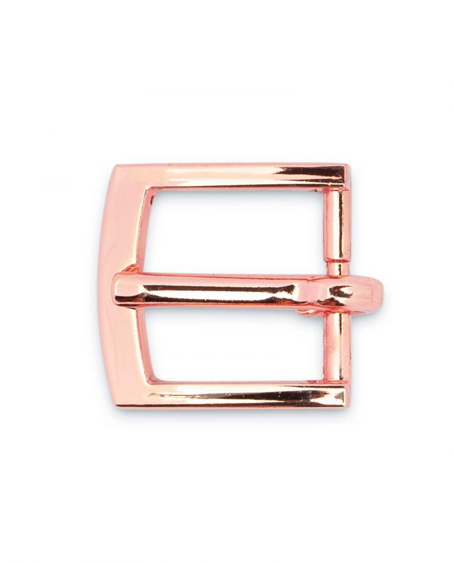 rose gold belt buckle Small 16 mm 2