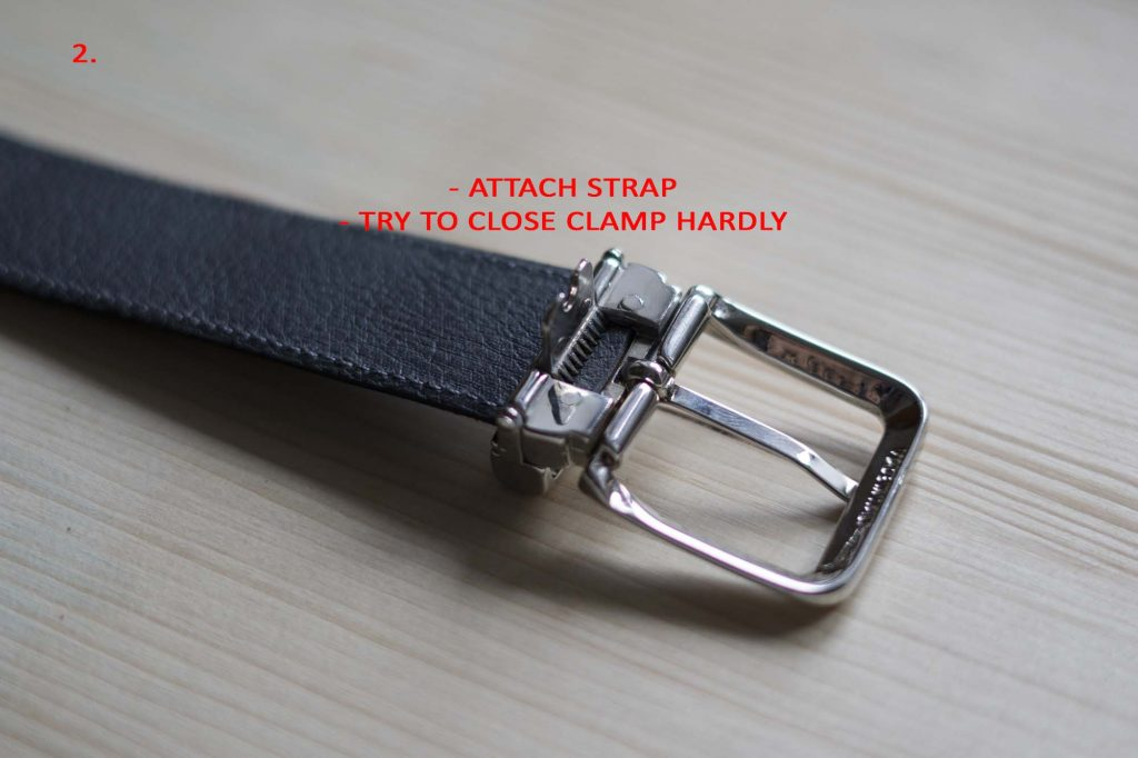 2 How To Attach a Belt Buckle to a Leather Belt Close hardly