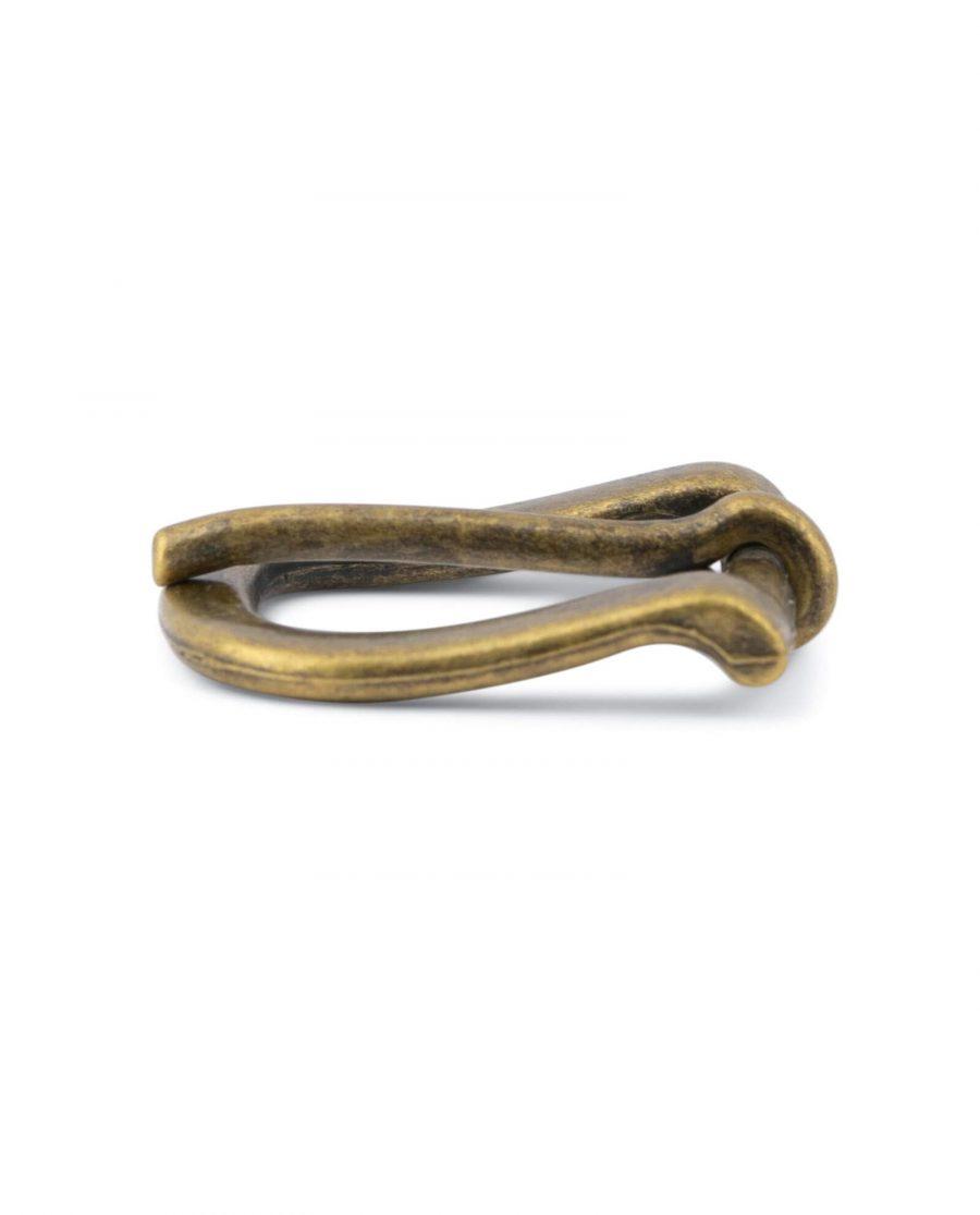 Antique Brass Belt Buckle 20 Mm 2