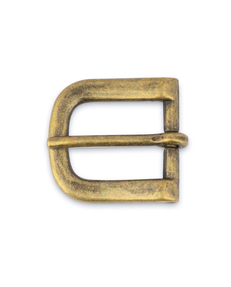 Antique Brass Belt Buckle 20 Mm 4